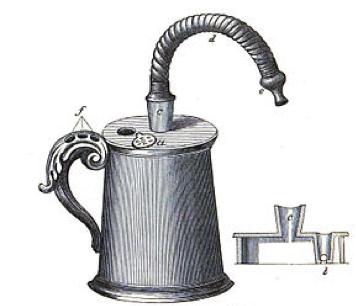 1 pav. Džono Mudžo sukurtas inhaliatorius.